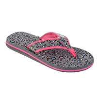 Urban Beach Rock On Flip Flop Black