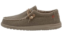 Hey Dude  Wally Natural Nut Shoes