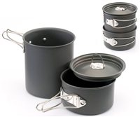 Gelert Ascent 1 Cookset 3 Piece