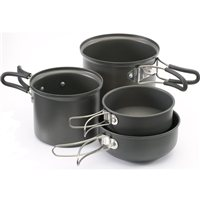 Gelert Ascent II 4 Piece Cookset