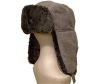 White Rock Fur Bomber Ski Hat