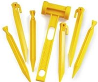 Gelert Power Pegs With Mallet
