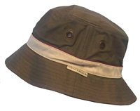 White Rock Oasis Cotton Solid Band Hat KHAKI