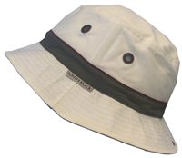 White Rock Oasis Cotton Solid Band Hat STONE