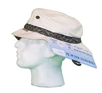 White Rock Oasis Design Band Hat STONE