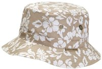 White Rock Oasis Hawaiian Hat BEIGE