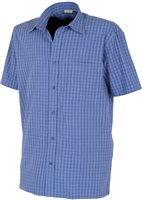 White Rock Men's Global Traveller Shirt BLUE PLAID