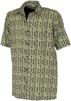 White Rock Men's Global Traveller Shirt KIWI PACIFIC PRINT