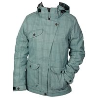 White Rock Cube Womens Jacket