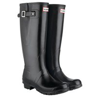 Hunter Original Adjustable Wellington Boot - Black