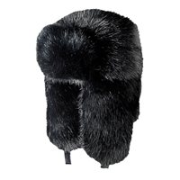 White Rock Full Fur Bomber Ski Hat