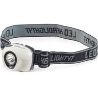 Gelert 1W 1 LED Aluminium Head Torch