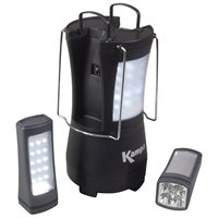 Kampa Apollo 2 Rechargeable Light With Detachable Torches