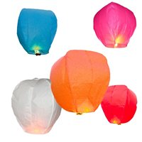 Steiner Chinese Wire Free Sky Lantern - 100% Biodegradable