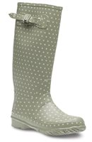 Lunar Green Spot Wellington Boots