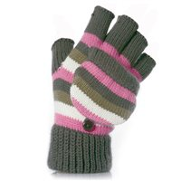 Otterdene Girls Shooter Fingerless Mittens
