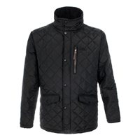 Trespass Argyle Quilted Mens Jacket