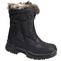 White Rock Flake Snow Boots