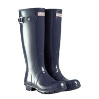Hunter Original Wellington Boot  - Navy