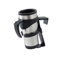 Brookstone Travel Mug with Holder