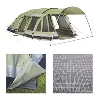 Outwell Bear Lake 6 Tent Package Deal 2015