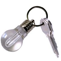 New York Gift Co. Retro Bulb Keyring