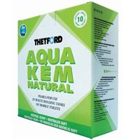 Thetford Aqua Kem Natural (Contains 10 Sachets)