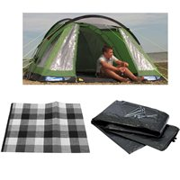 Kampa Caister 4 Package Deal 2015