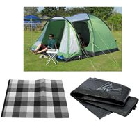 Kampa Caister 5 Tent 2016 Package Deal