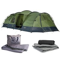 Gelert Horizon 8 Supreme Tent Package Deal 2013
