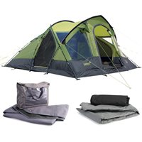 Gelert Ottawa 6 Tent Package Deal 2013