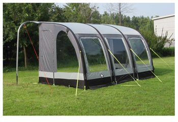 Review Kampa Motor Rally Air 390 Awning 2014 Camping