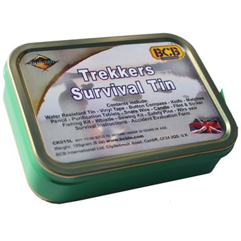 BCB Adventure Trekkers Survival Tin (NATO)  - Click to view a larger image
