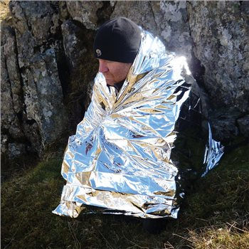 BCB Adventure Foil Hypothermia Blanket (NATO)  - Click to view a larger image