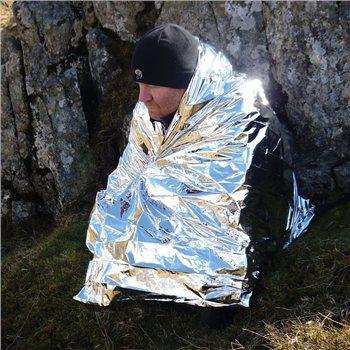 BCB Adventure Foil Hypothermia Blanket (NATO)  - Klicken Sie hier, um ein größeres Bild zu sehen