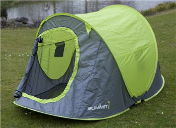Summit 2 Man Pop Up Tent - Click to view a larger image & Summit 2 Man Pop Up Tent | CampingWorld.co.uk