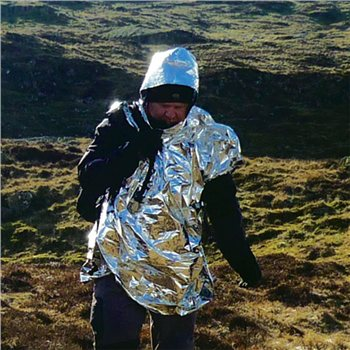 BCB Adventure Emergency Foil Poncho  - Click to view a larger image