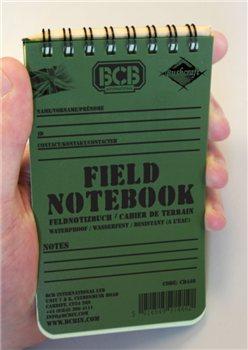 BCB Adventure Field Notepad