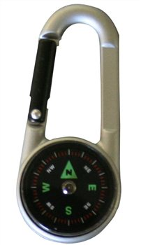 BCB Adventure 3 In 1 Karabiner Compass Thermometer  - Click to view a larger image