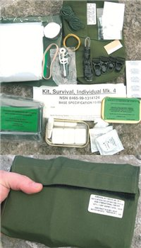 BCB Adventure Air Crew Survival Pack Mk 4 (RAF / NATO)  - Click to view a larger image
