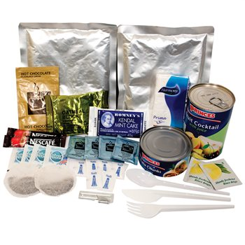 BCB Adventure - Wet Meals Ration Pack