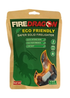 Fire Dragon - Clean Solid Fuel Tablets UN1325