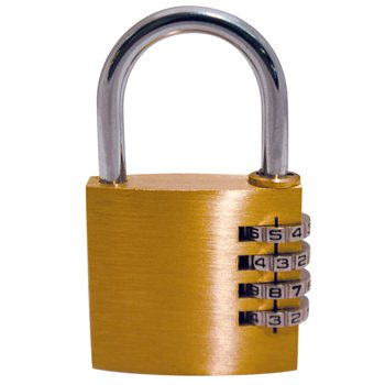 BCB Adventure Heavy Duty Combination Padlock  - Click to view a larger image