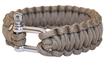 BCB Adventure Paracord Bracelet with Metal Buckle  - Click to view a larger image