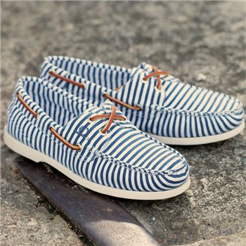 Chatham Candy Washable Canvas Boat Shoe
