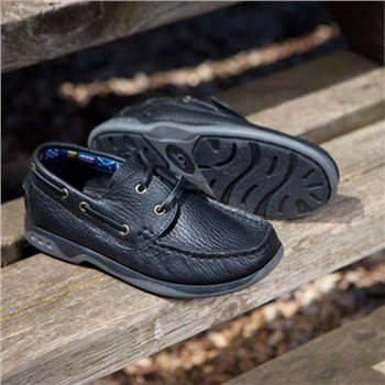 Chatham Skipper Lace Up Childrens Deck Shoe  - Click to view a larger image