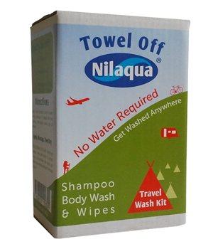 Nilaqua No Water Travel Wash Kit