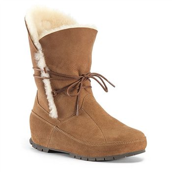 Olang Sauk Suede Shearling Ankle Boot  - Click to view a larger image