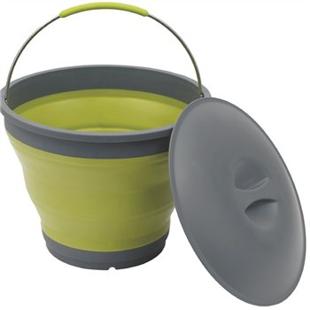 Outwell Collaps Bucket w/lid   - Click to view a larger image