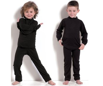 White Rock Kids Thermal Base Layer Set   - Click to view a larger image